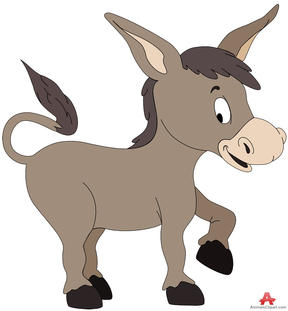 Donkey clipart free clipart images 5 image