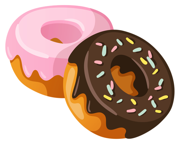 Kawaii Donuts Clipart / Cute