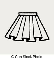 doodle pleated skirt Clipartby hchjjl0/4; doodle pleated skirt