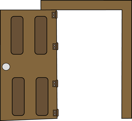 Door Clipart Black And White Clipart Panda Free Clipart Images