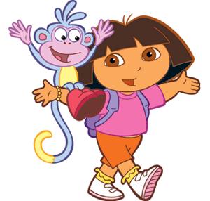 Dora Happy Birthday Clipart