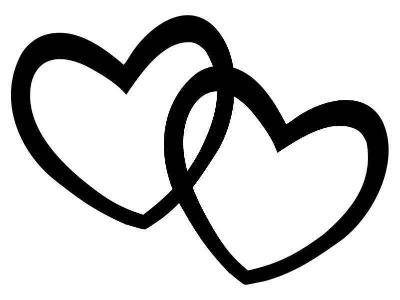Double Heart Clipart; Double Clipart   Free Download Clip Art   Free Clip Art   on .