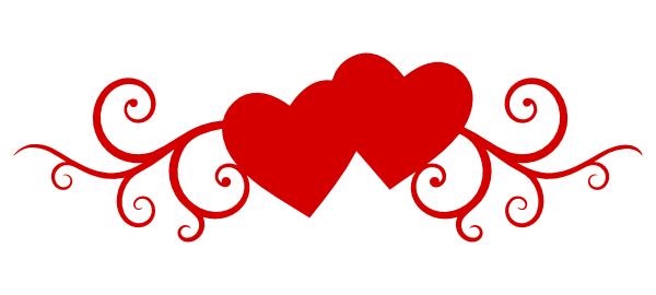 Double Heart Clipart Images .