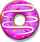 doughnut hole; doughnut character ...