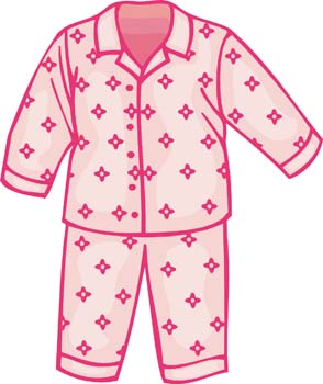 Download Childs Pajamas Vector For Free