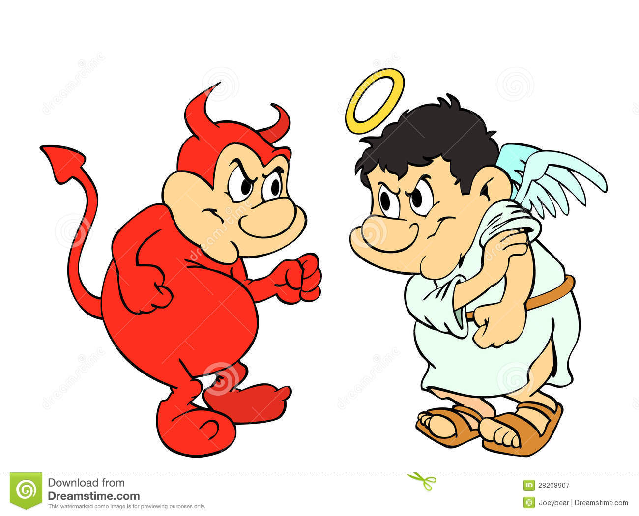 Download Good And Evil Clipart