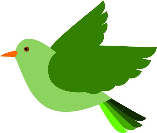 Download Green Bird Clipart