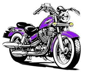 Download Harley Davidson Motorcycle Cartoon Clipart