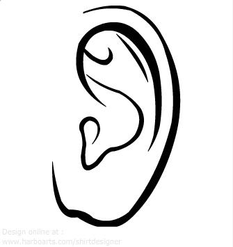 Download Left Ear Vector Clipart