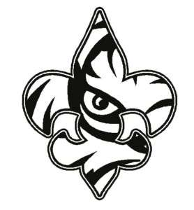 Download Lsu Black And White Clipart