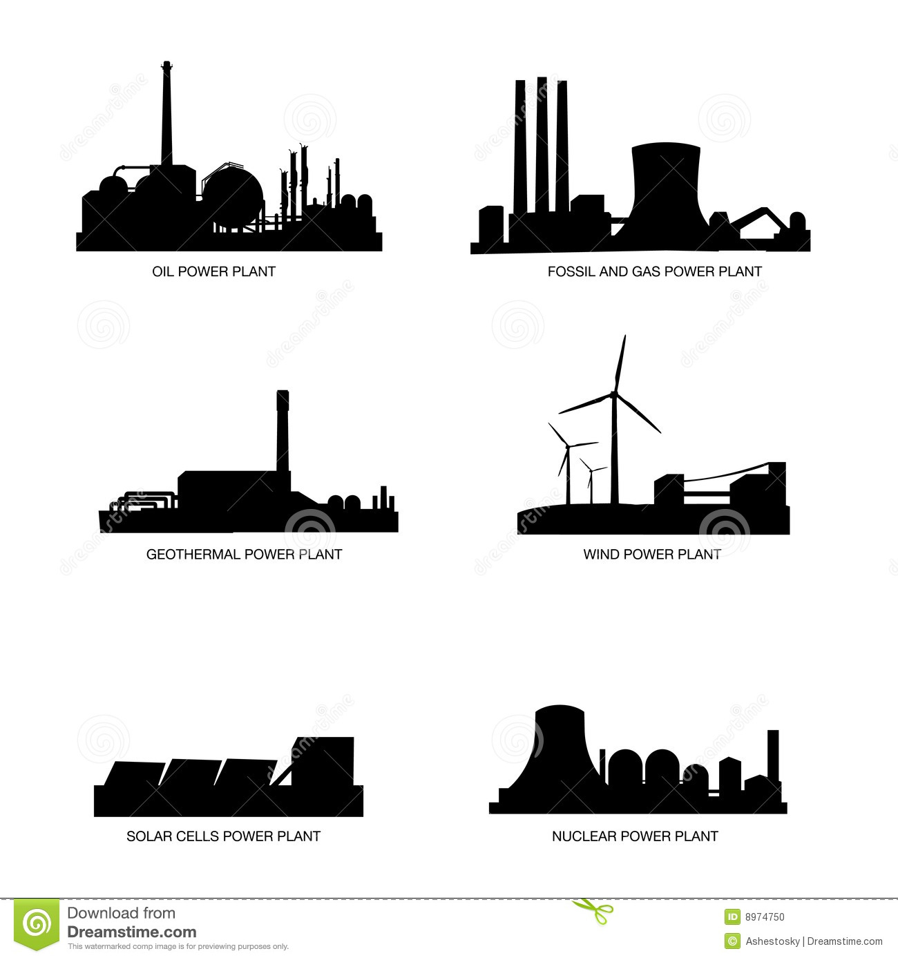 Download Natural Gas Power Plant Clipart