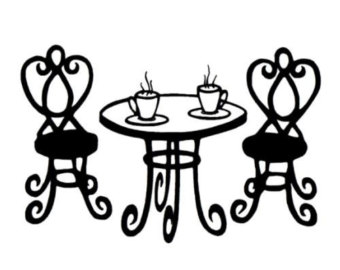 Download Paris Cafe Clipart