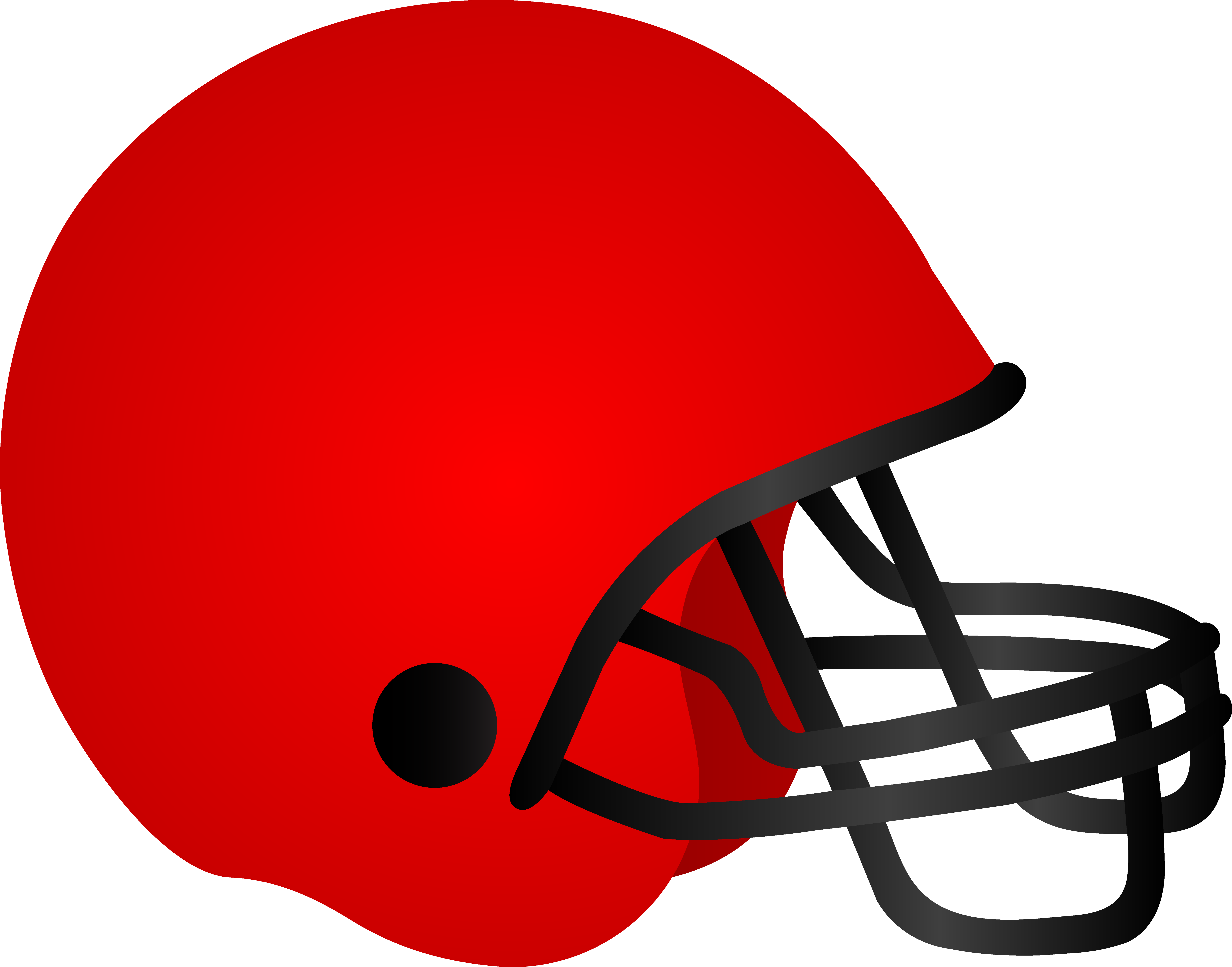 Download Red Football Helmet .