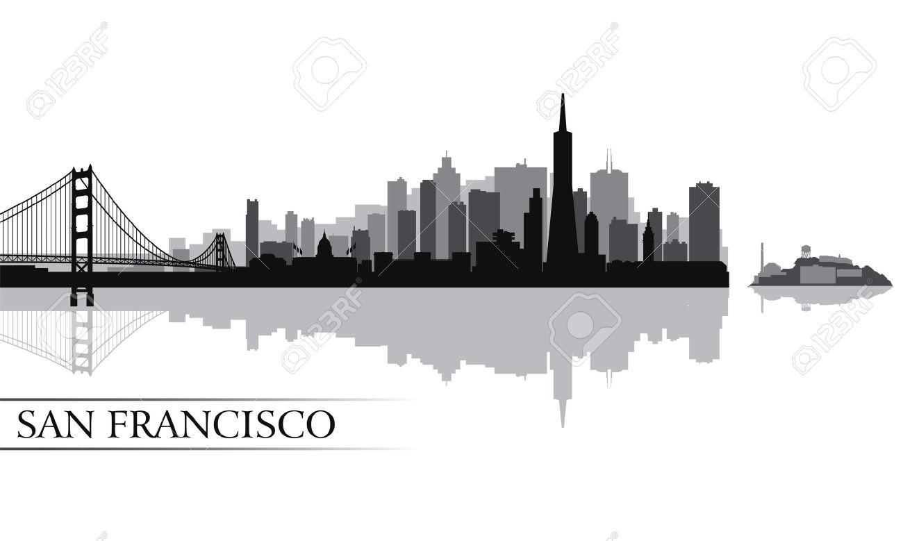 Download San Francisco Silhouette Clipart