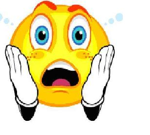 Download Shocked Look Clipart