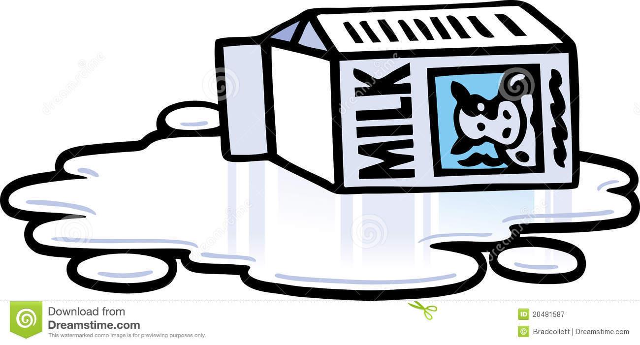 Download Spilt Milk Clipart
