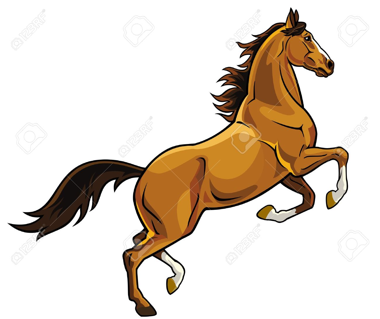 Download Stallion Horse Backgrounds Clipart