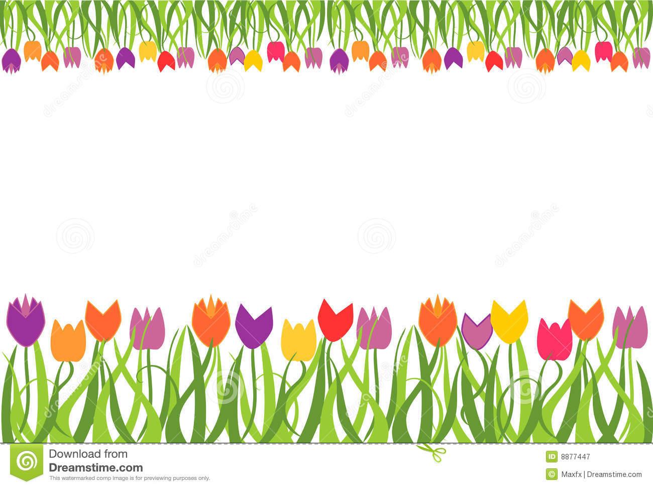 Download Tulip Border Clipart