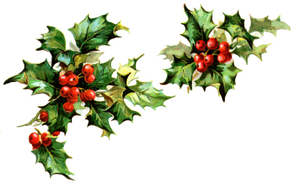 download winter holly clipart border clip art free