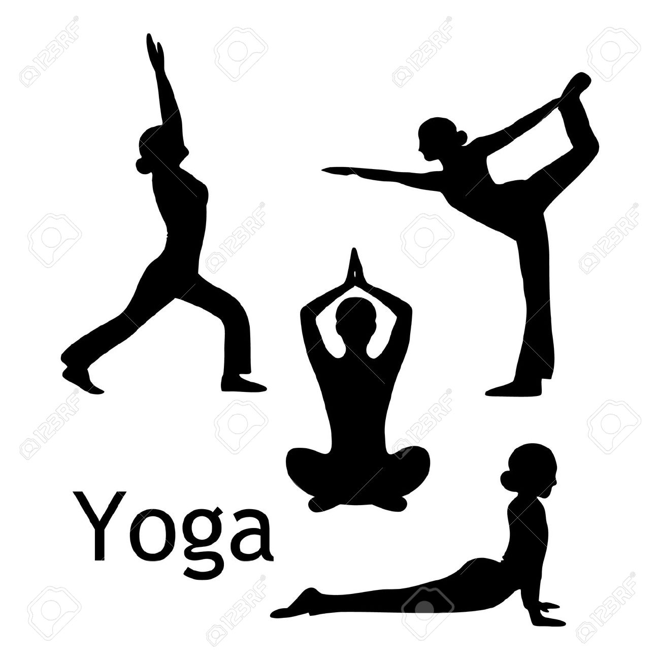 Download Yoga Pose Clipart
