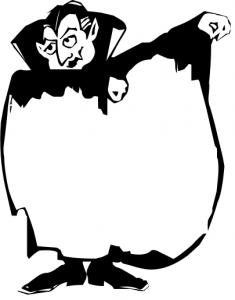 Dracula Cape Blank