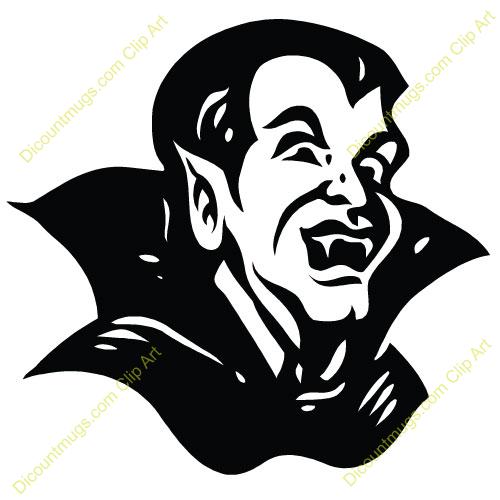 Dracula Face Clip Art Dracula Clipart