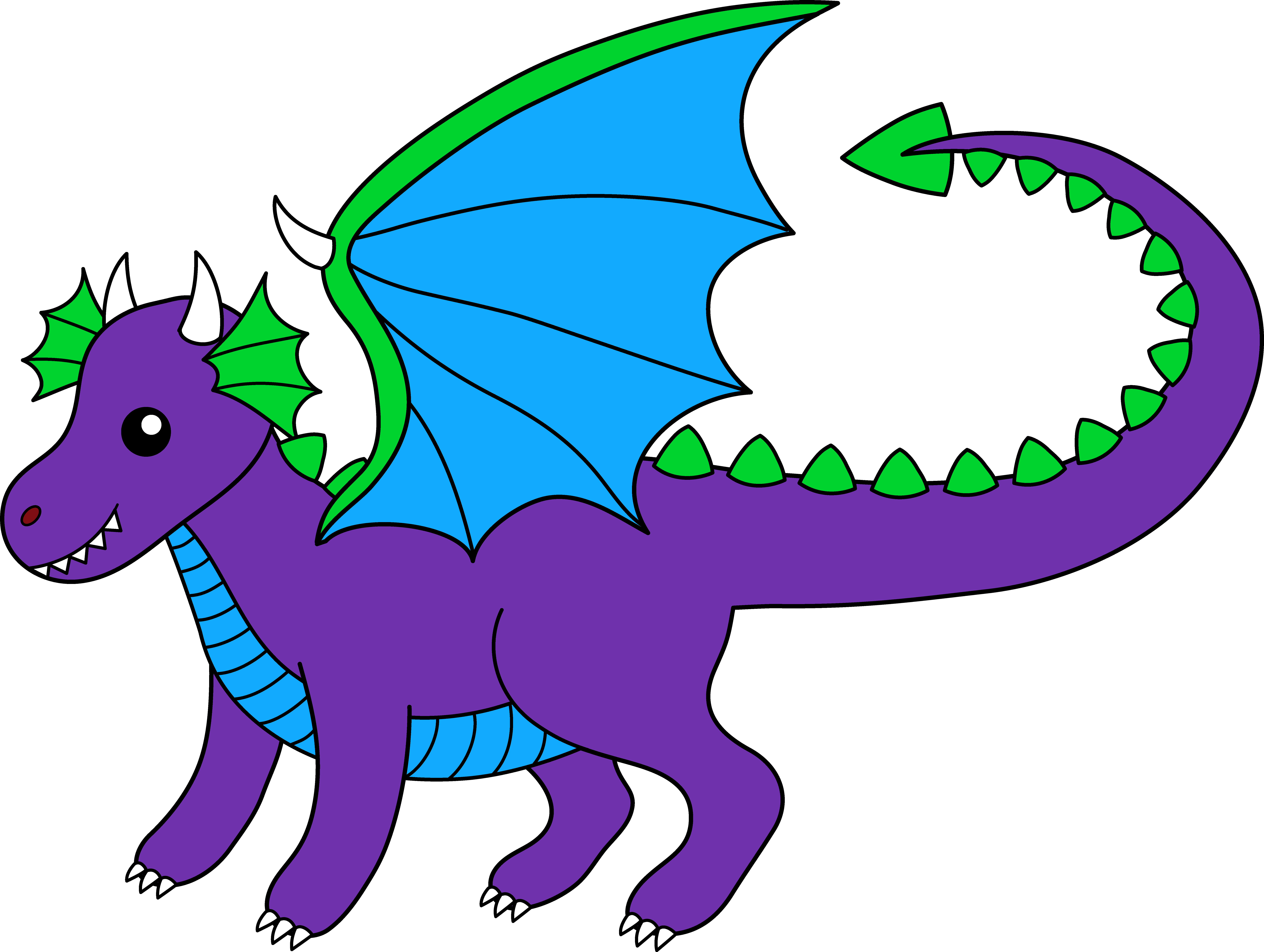 Dragon Clip Art | Clipart library - Free Clipart Images