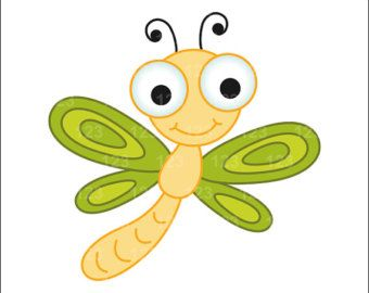CUTE CARTOON DRAGONFLY | Cute cartoon dragonfly clipart free clip art images
