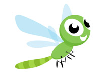 cute-cartoon-style-green-dragonfly-insect-gray-clipart cute cartoon style  green dragonfly insect gray clipart. Size: 35 Kb From: Animals
