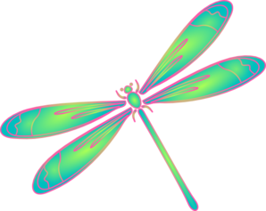 Dragonfly clipart free .