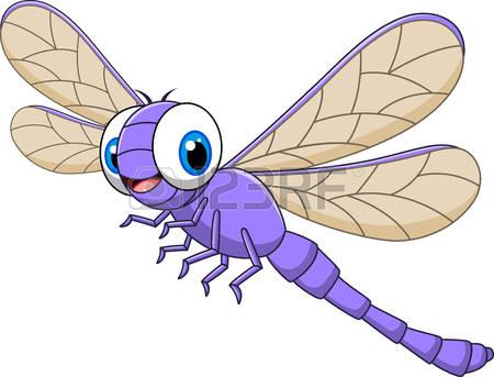 dragonfly: Vector illustration .