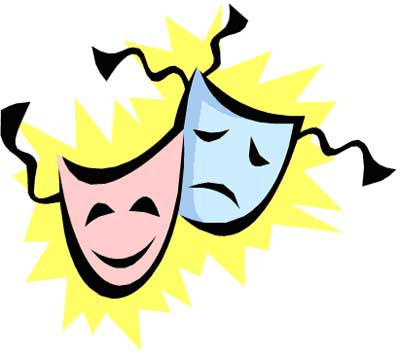 Drama masks clipart   Clipart library - Free Clipart Images