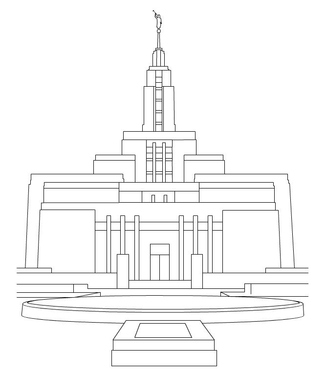 Draper Temple LDS Clip Art ...