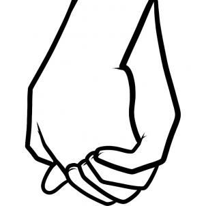 Drawings Of Holding Hands | Free Download Clip Art | Free Clip Art ..