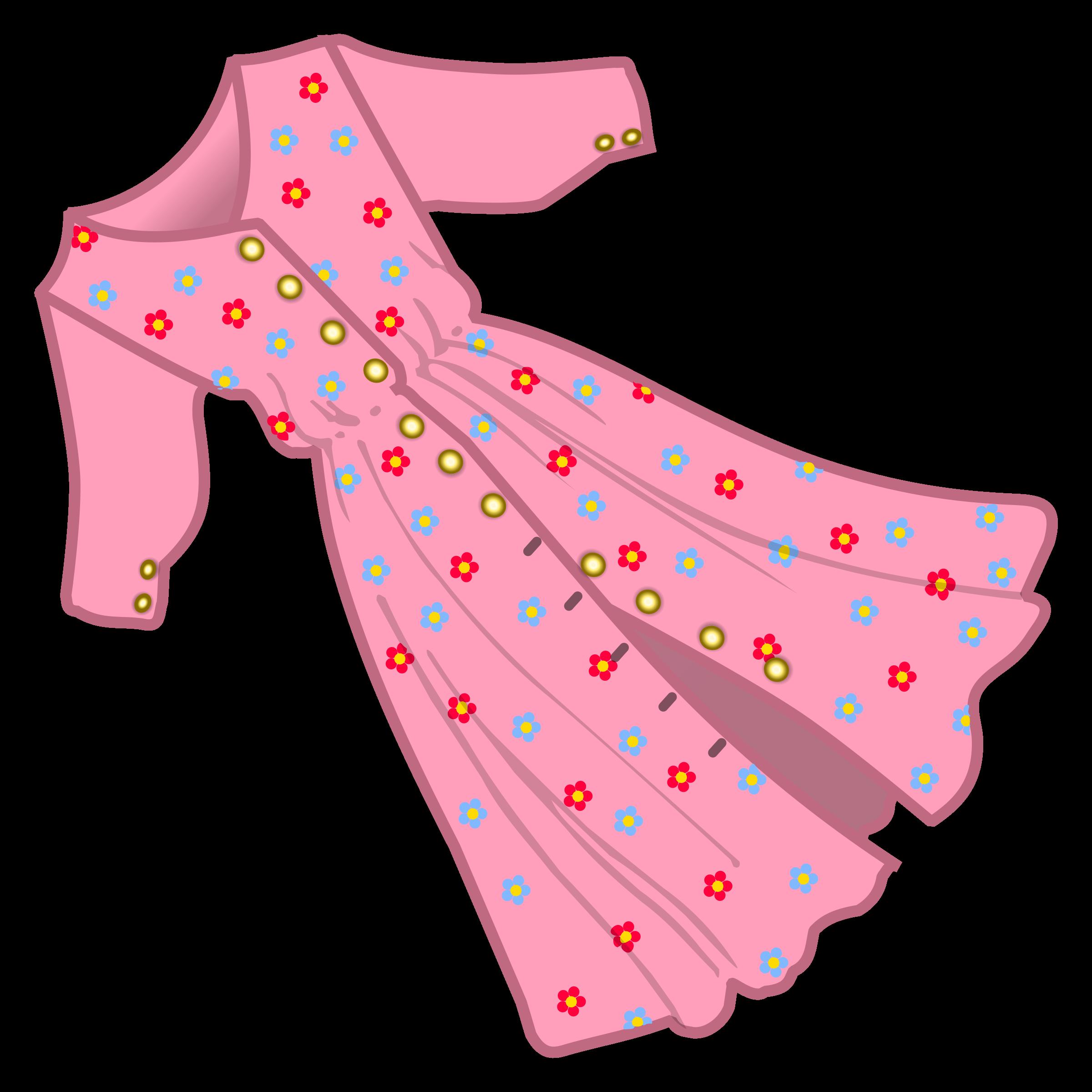 Dress Clip Art. BIG IMAGE (PNG)