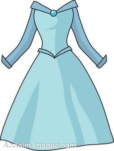 Dress Clip Art Blue Dress Clipartclip Art Picture Of A Princess Style