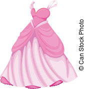 . hdclipartall.com A beautiful pink dress - Illustration of a beautiful pink.
