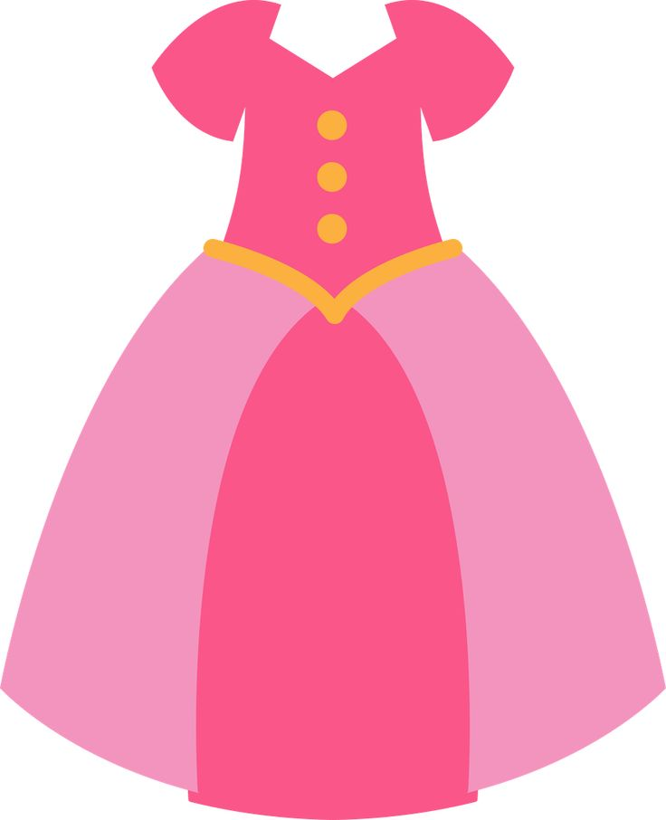 Dress Clipart Princess Dress  - Dress Clipart