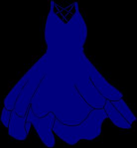 Pageant Dress Clipart #1