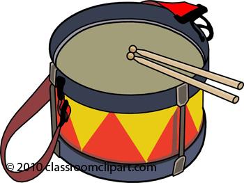 Drum Instruments Clipart