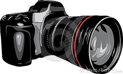 Dslr Camera Clipart Video Camera Stock Images