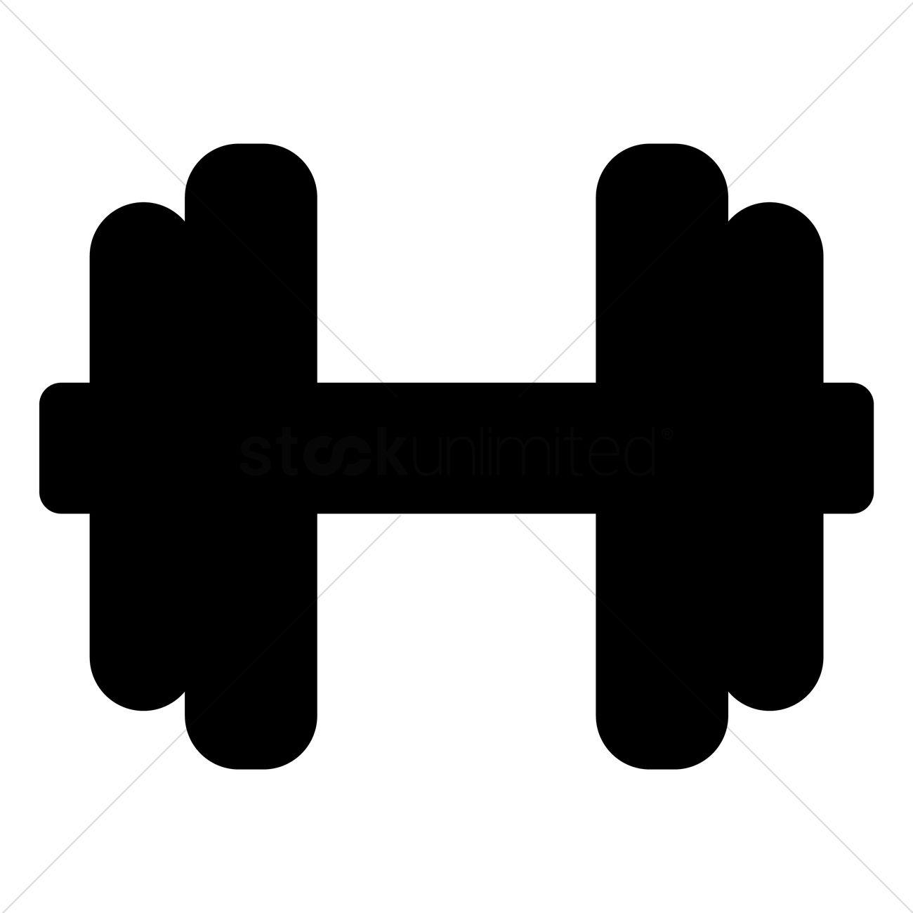 Dumbbell Clip Art