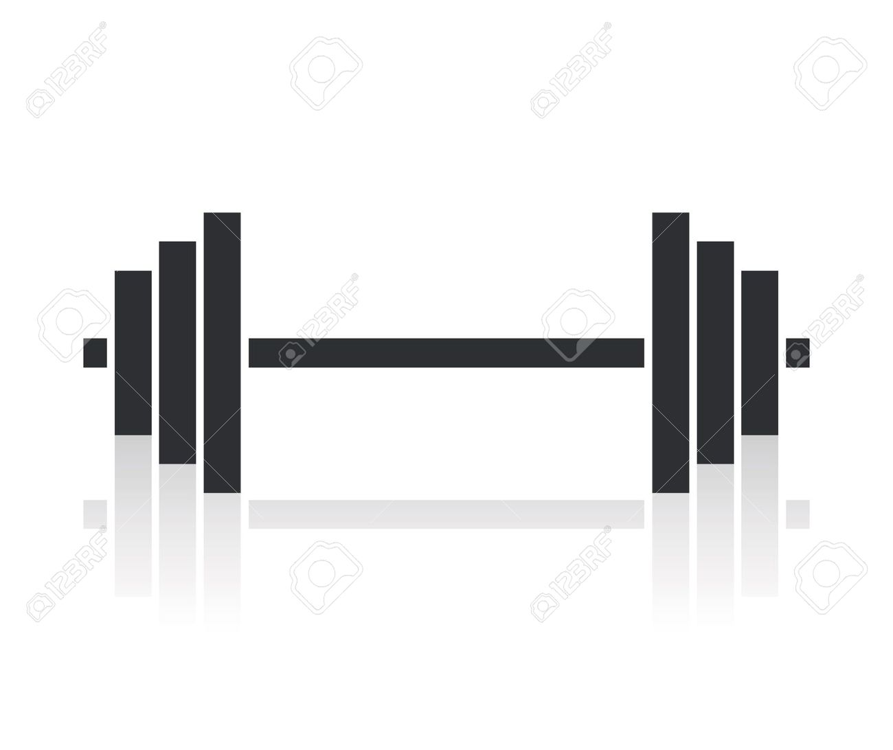 dumbbell: dumbbell weights .