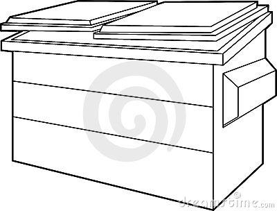 Dumpster Stock Illustrations u2013 1,332 Dumpster Stock Illustrations, Vectors u0026amp; Clipart - Dreamstime