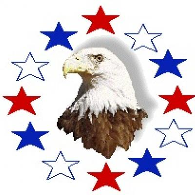 Eagle and stars clipart patriotic clipart tip junkie