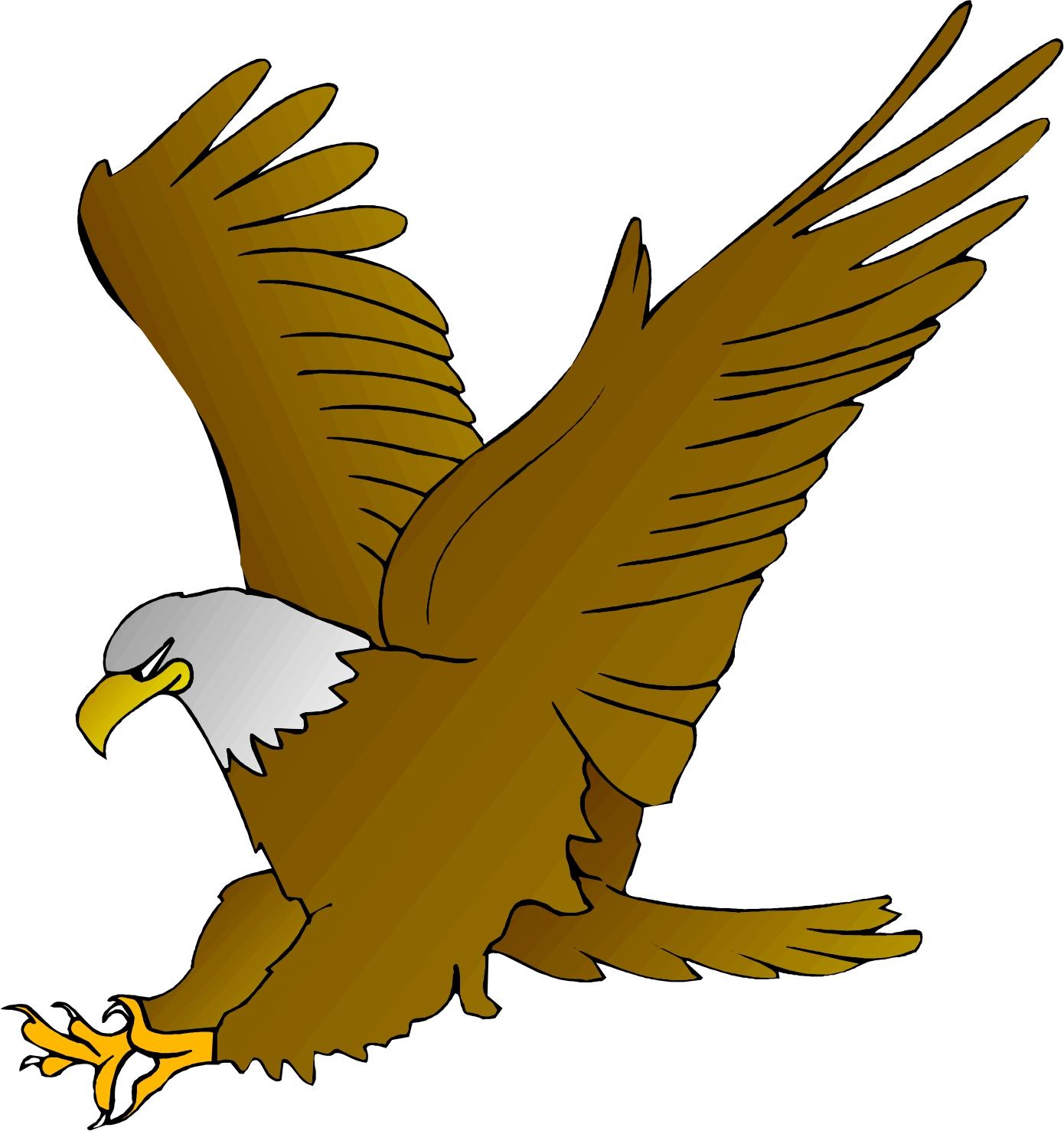 Eagle Clip Art Cartoon Eagle