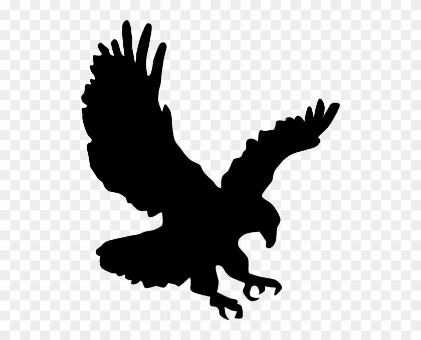 Eagle 4 Flying Clip Art - Auburn Eagle Clipart #133409