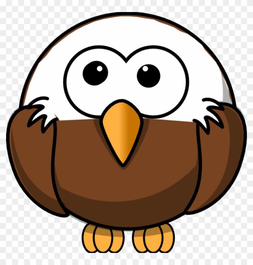 Free Eagle Clipart Eagle Clip Art At Clker Vector Clip - Bald Eagle Round  Ornament #