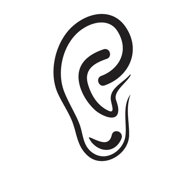 Ear Anatomy Clip Art For Custom Medical Products Gifts