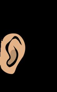 ... Ear Clip Art - vector clip art online, royalty free .